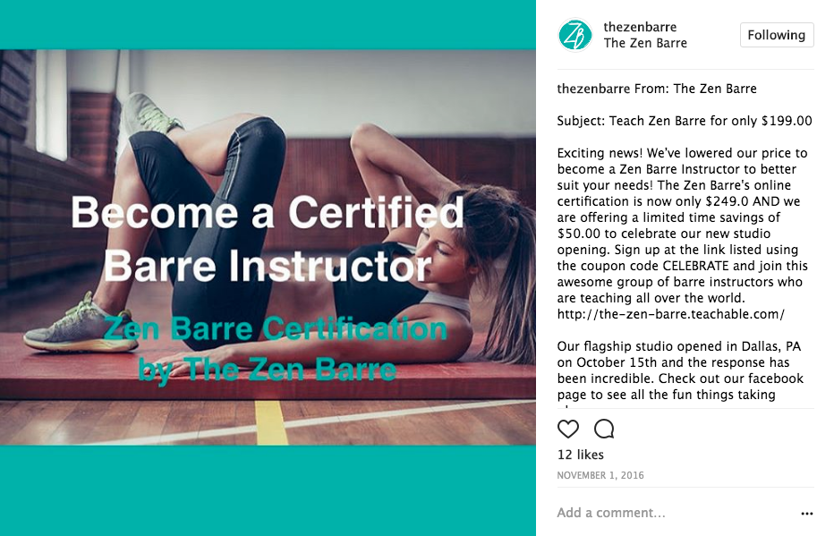 Where To Get A Barre Certification In North America